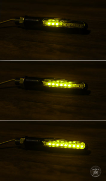 Lanesplitter Garage LED Sequence Indicators